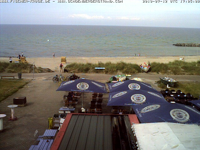 Webcam , Schönberger Strand